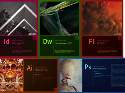 Adobe Creative Cloud(2014)購入しました。