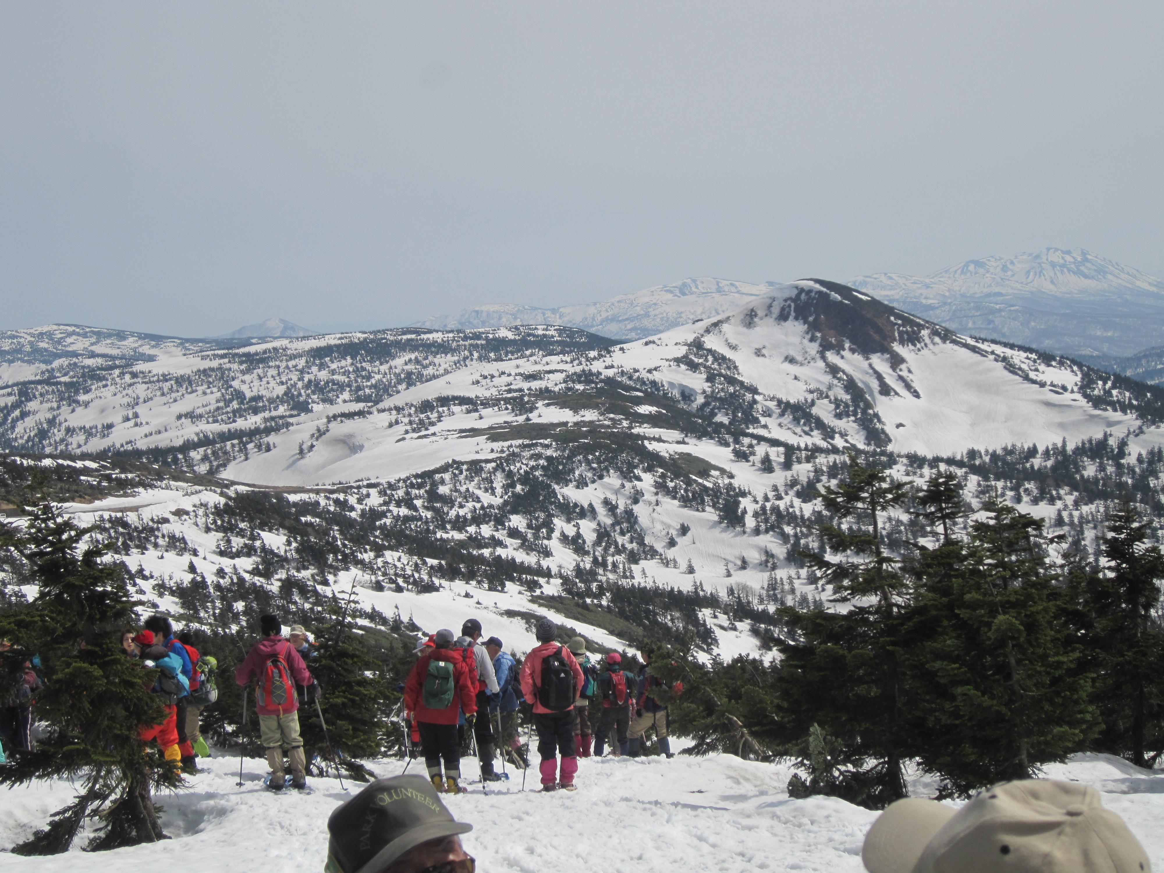 山頂スノトレ1