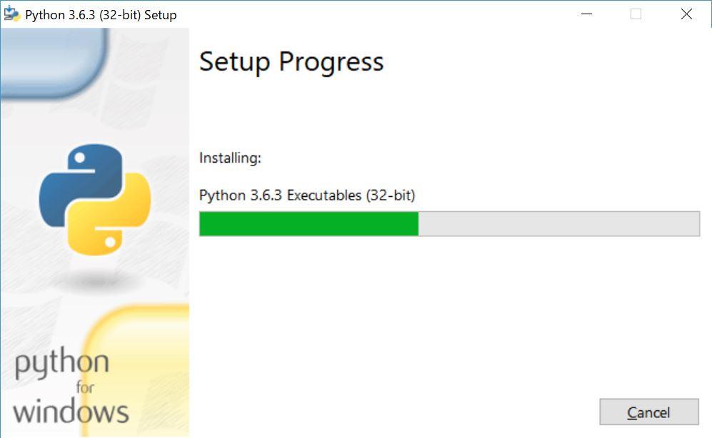 Pythonインストール