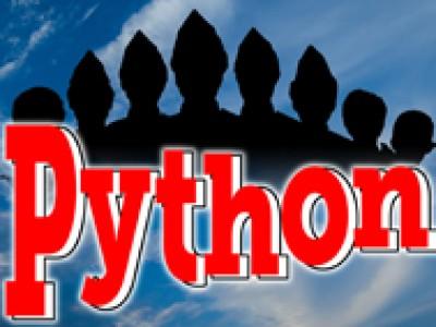 5 4 3 2 1 Python are go!